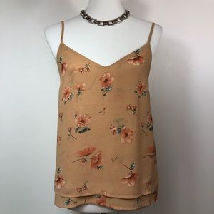 Forever 21 Floral Swing Tank Camisole